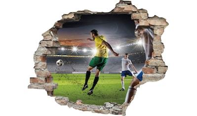 queence Wandtattoo »Fußball Schuss« kaufen