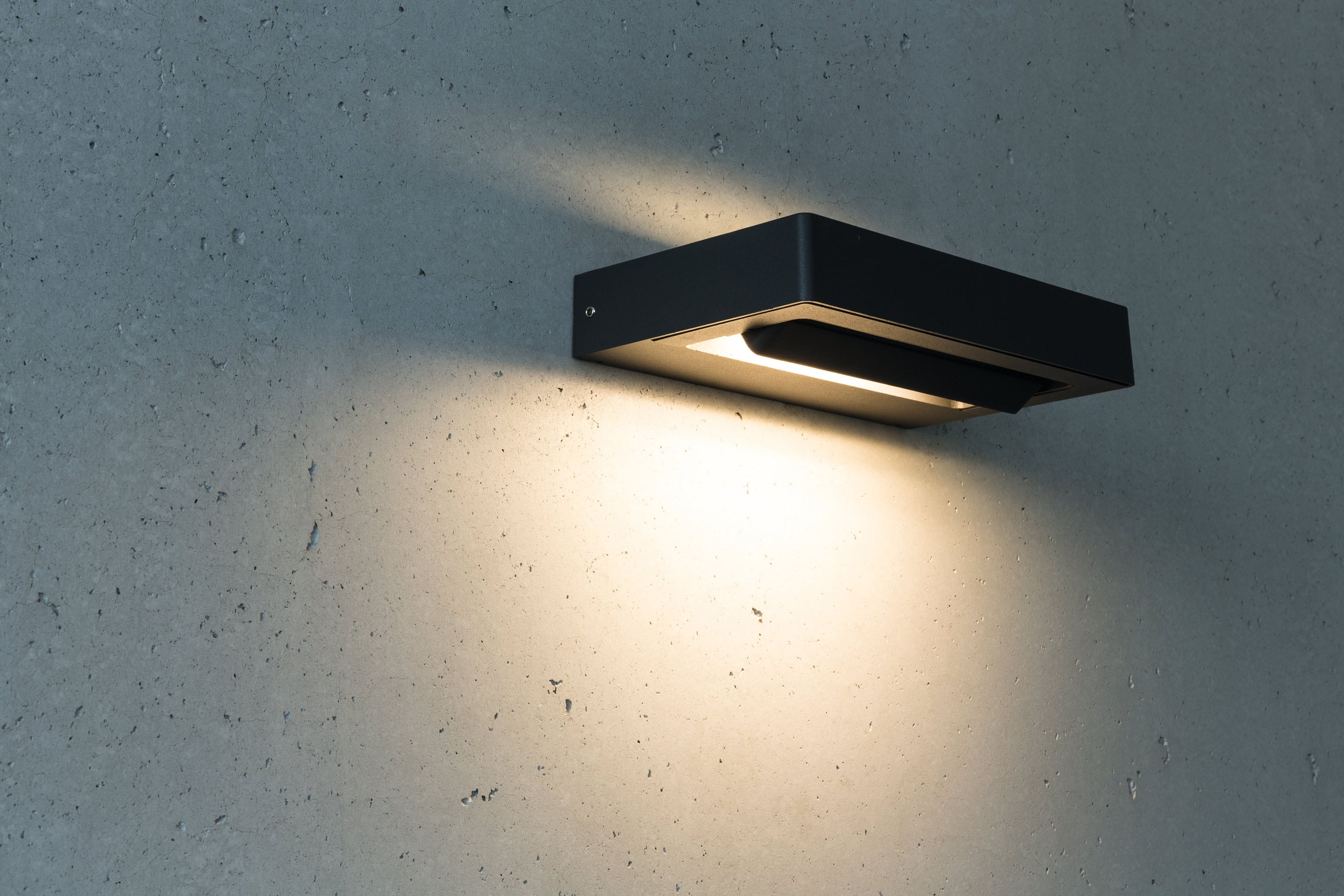 HEITRONIC LED Wandleuchte Cordoba, LED-Modul, 1 St., Warmweiß, Leuchteinheit 320° schwenkbar