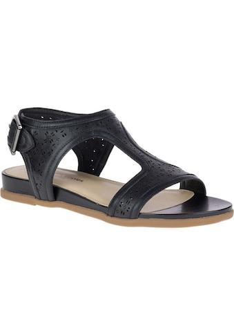 Hush Puppies Sandale »Damen Leder- Dalmatians mit T-Riemen« kaufen