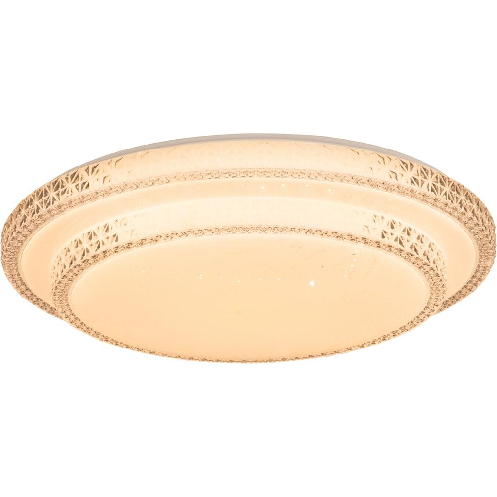 Nino Leuchten LED Deckenleuchte »SENDAI«, LED-Board, Warmweiß, LED Deckenlampe
