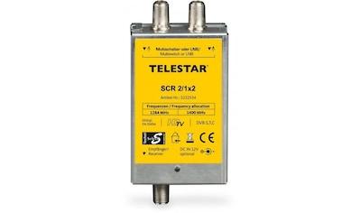 TELESTAR SAT - Multischalter, Unicable »SCR 2/1x2« kaufen