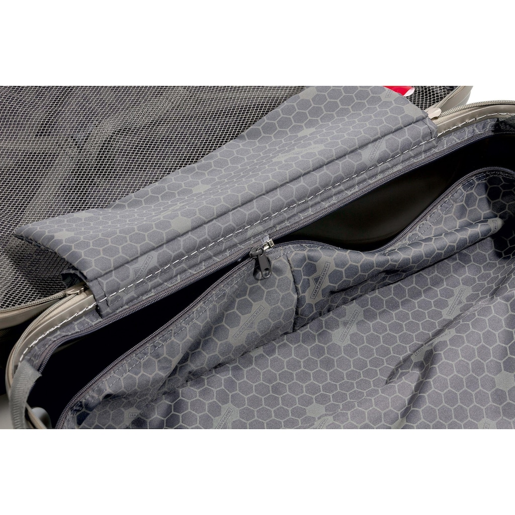 Hardware Business-Trolley »PROFILE PLUS, metallic grey brushed«, 2 Rollen
