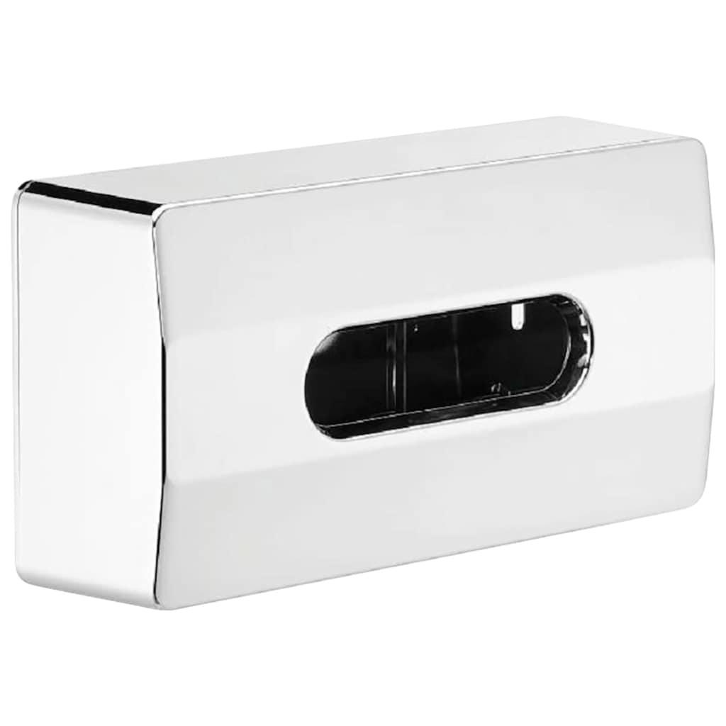 Nie wieder bohren Feuchttücherbox »Pro V2«, (1 St.), hochglanzverchromt