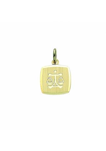 Adelia´s Anhänger Set »333 Gold Sternzeichen Anhänger Waage«, 333 Gold Goldschmuck für... kaufen