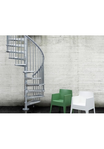 Fontanot Außentreppe »Steel Zink«, Ø: 120 cm kaufen