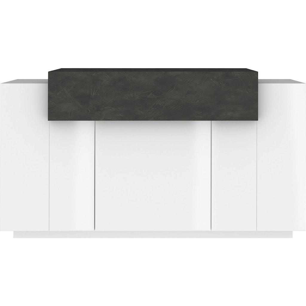 Tecnos Kommode »Coro«, Breite 140 cm, Hochglanzfronten