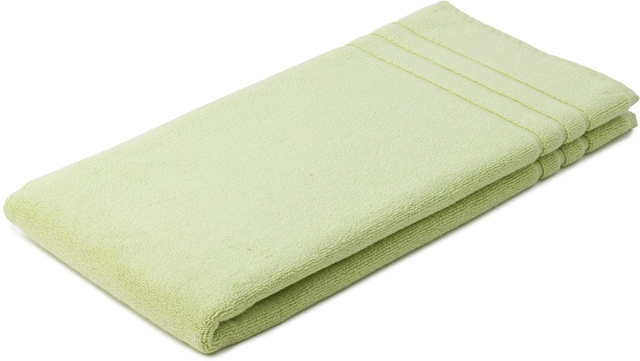 Gözze Badematte Monaco, Höhe 5 mm, beidseitig nutzbar, verwendbar, 1,1 kg/m² Gesamtgewicht grün Einfarbige Badematten