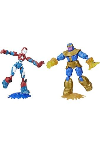 "Hasbro Actionfigur ""Marvel Avengers: Bend And Flex, Iron Patriot vs. Thanos Figuren"", (Set, 2 - tlg.) kaufen"