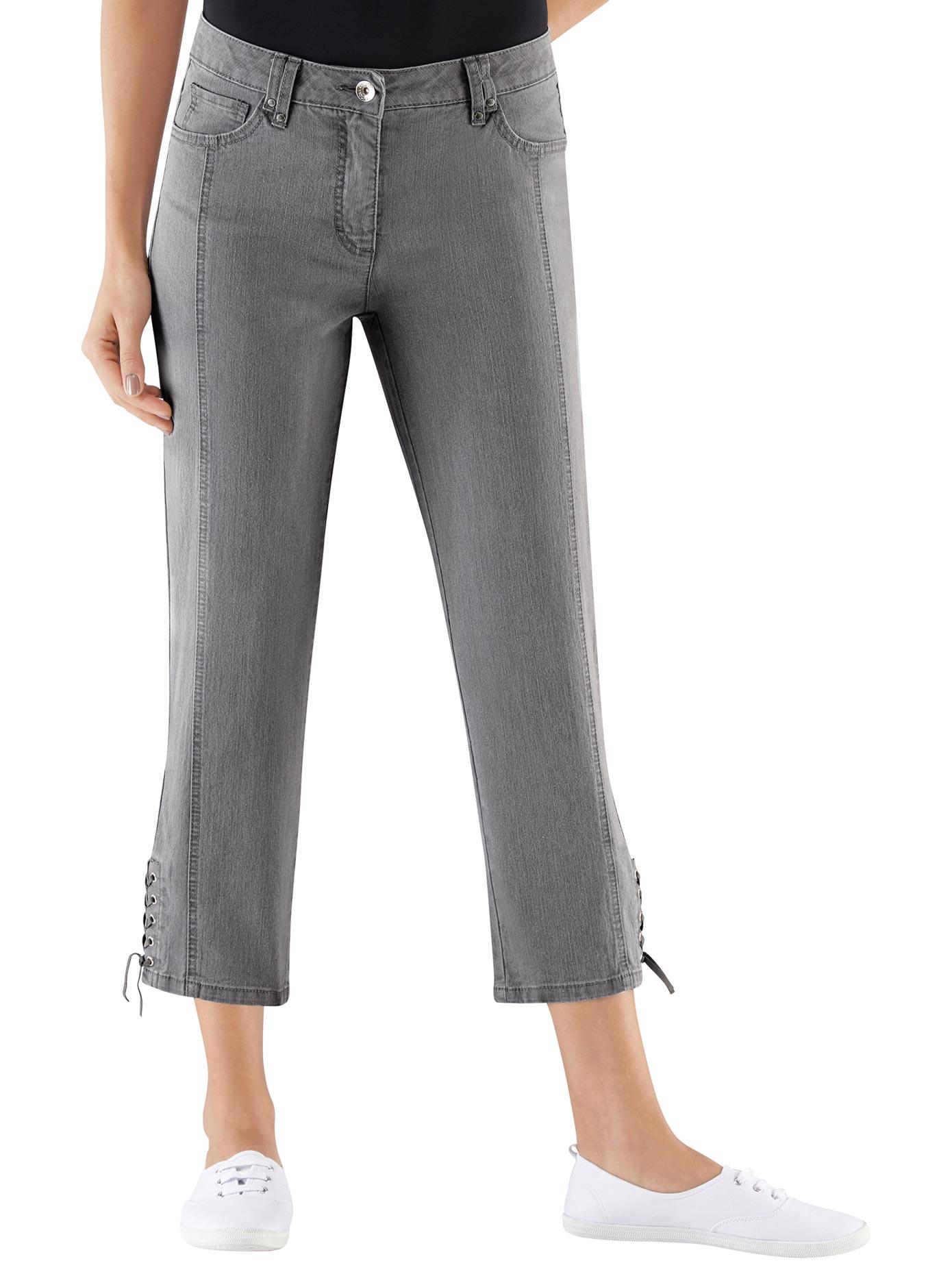 Casual Looks 7/8-Jeans mit Ziernähten | Bekleidung > Jeans > 7/8-Jeans | Casual Looks