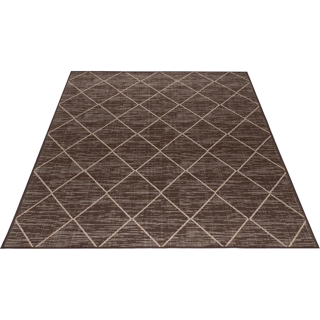 Guido Maria Kretschmer Home&Living Teppich »Florenz«, rechteckig, 3 mm Höhe, Outdoor geeignet, Wohnzimmer