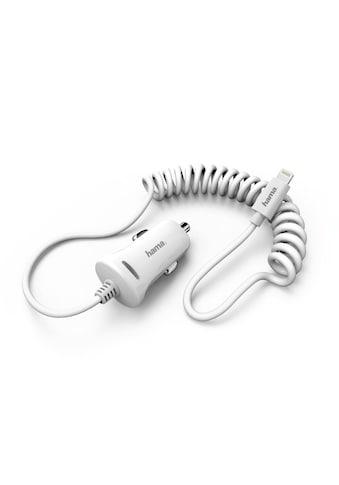 Hama Kfz-Ladegerät, Lightning, 2.4 A, Weiß kaufen