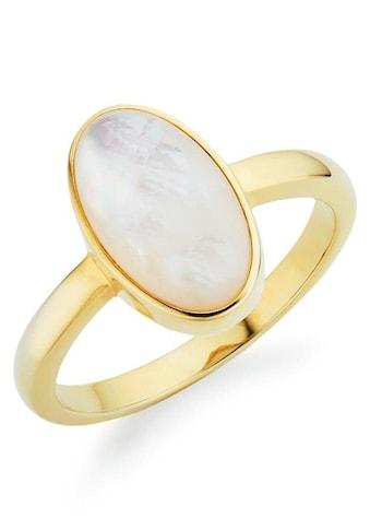 GEMMONA Fingerring »Q0007R/90/67/«, mit Perlmutt kaufen