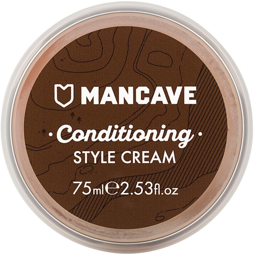 """MAN CAVE Haarcreme """"Conditioning StyleCream"""", mittlerer bis starker Halt"""