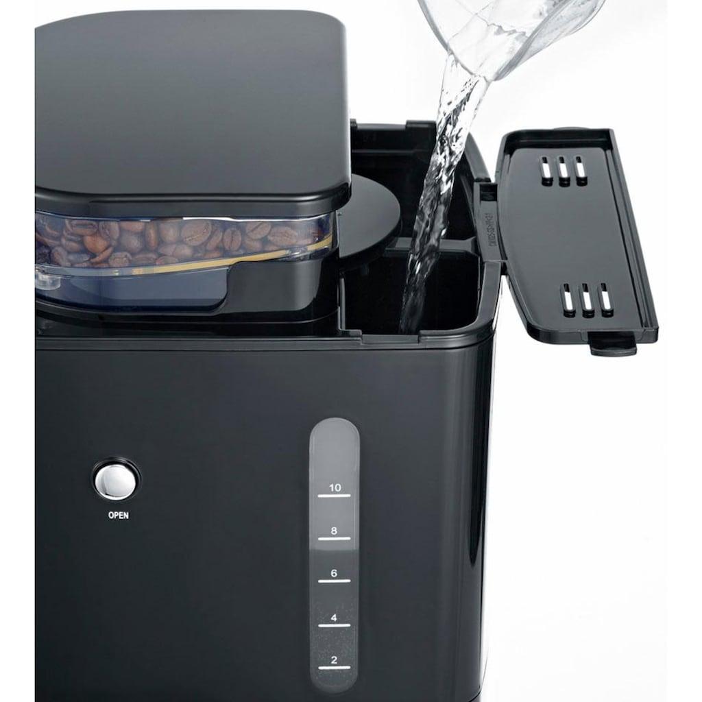 Severin Kaffeemaschine mit Mahlwerk KA 4810, Permanentfilter 1x4
