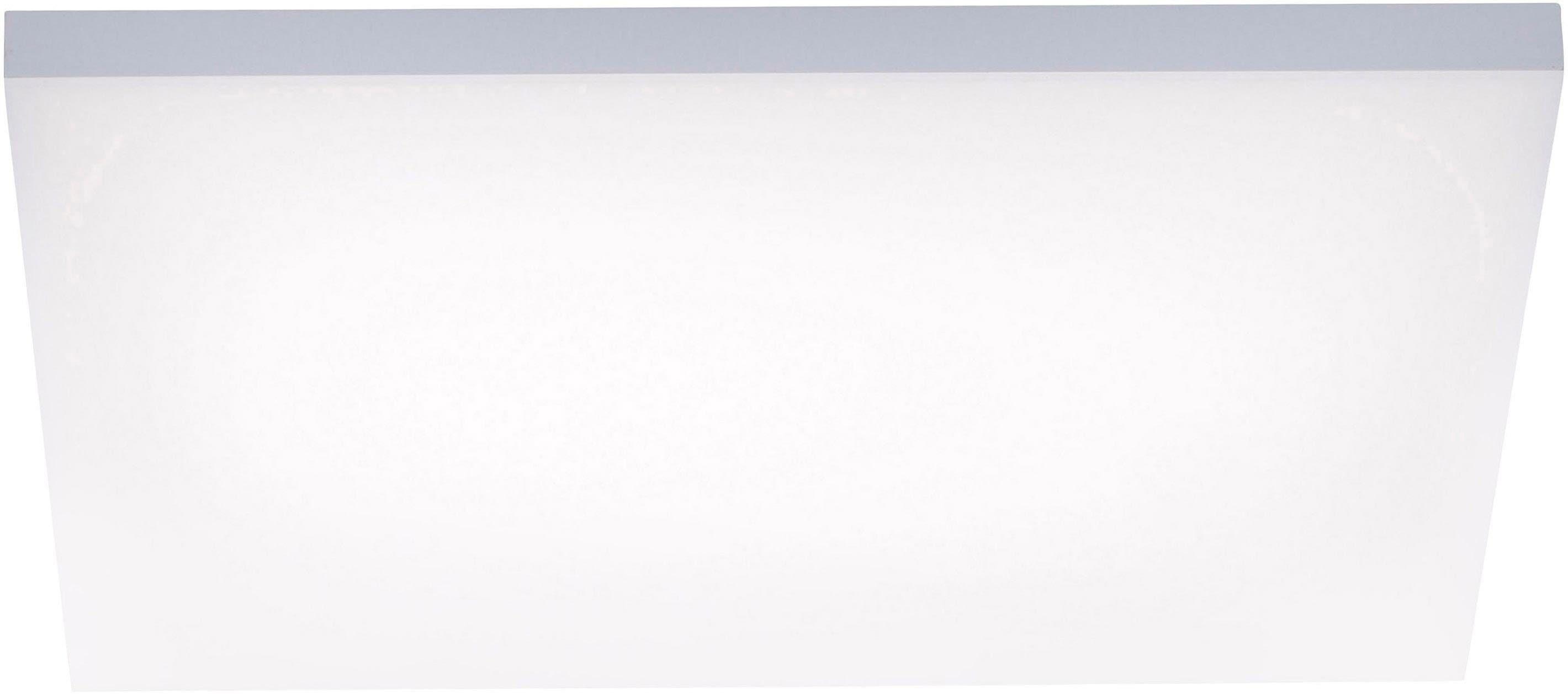 Paul Neuhaus Deckenleuchte FRAMELESS, LED-Board, Warmweiß-Neutralweiß-Tageslichtweiß, LED Panel mit Farbtemperaturregelung (warmweiß-tageslichtweiß), rahmenlos und quadratisch, Dimmbar über Funkfernbedienung