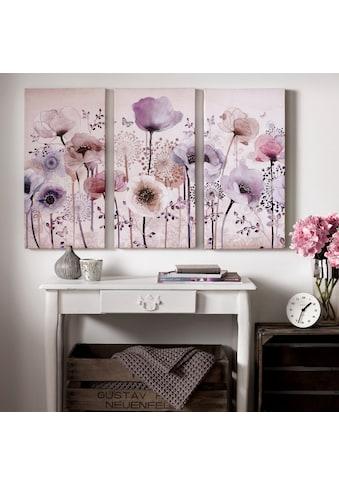 Art for the home Leinwandbild »Classic Poppy« (Set) kaufen