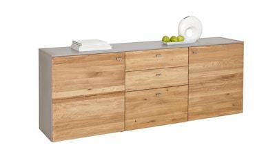 GWINNER Sideboard »SOLANO«, Lack fango, 2-türig, Breite 195 cm kaufen
