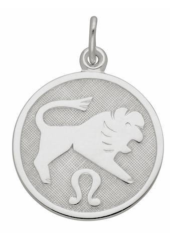 Adelia´s Kettenanhänger »925 Silber Sternzeichen Anhänger Löwe Ø 15,7 mm« kaufen