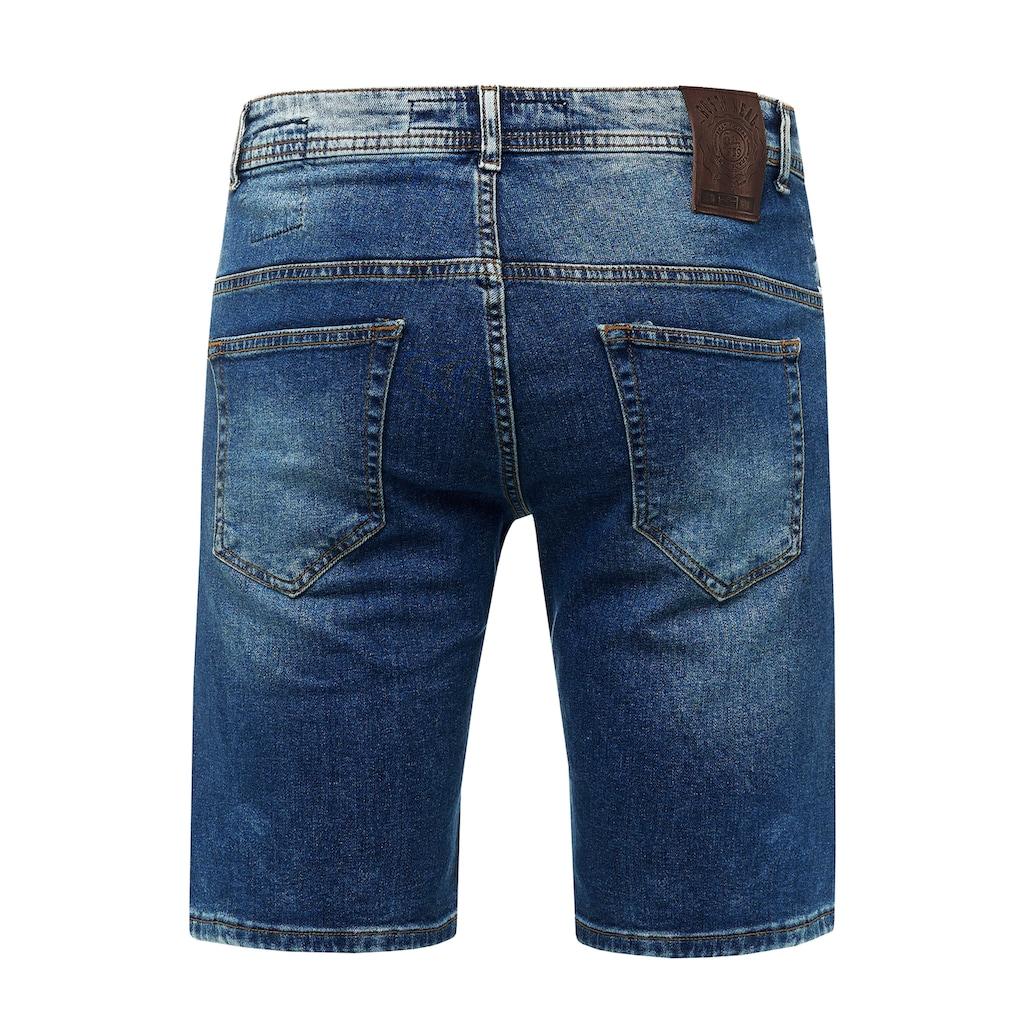 Rusty Neal Shorts »Navito«, mit coolen Used-Details