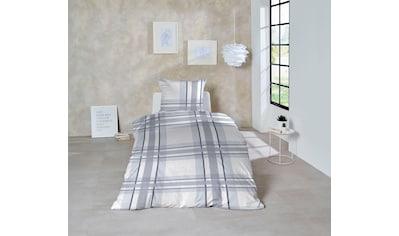 Primera Bettwäsche »Snowy Windows«, mit feinem Karomuster kaufen