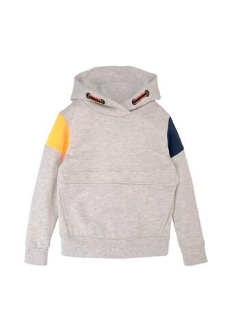 TOM TAILOR Sweatshirt »Hoodie mit Applikation« kaufen