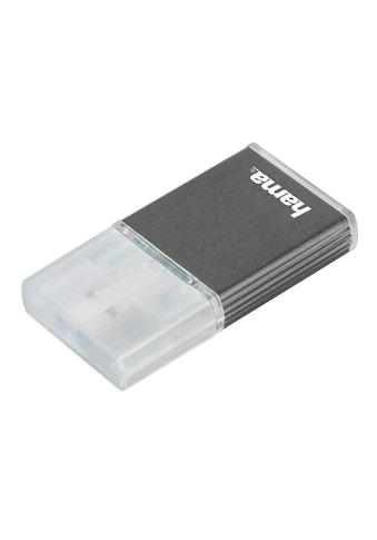 Hama USB - 3.0 - UHS - II - Kartenleser, SD, Alu, Anthrazit kaufen