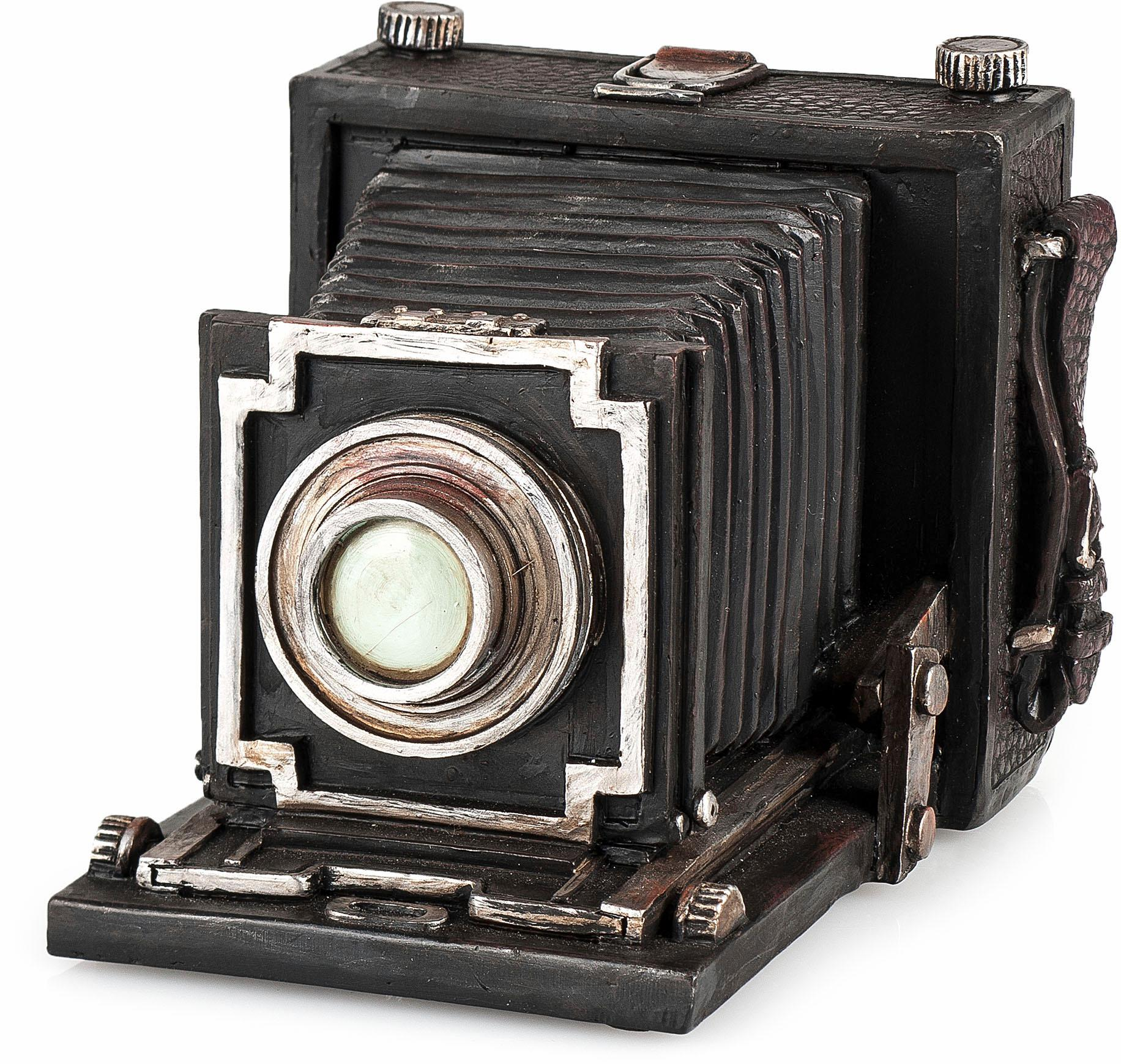 Home affaire Aufbewahrungsbox Fotoapparat, schwarz