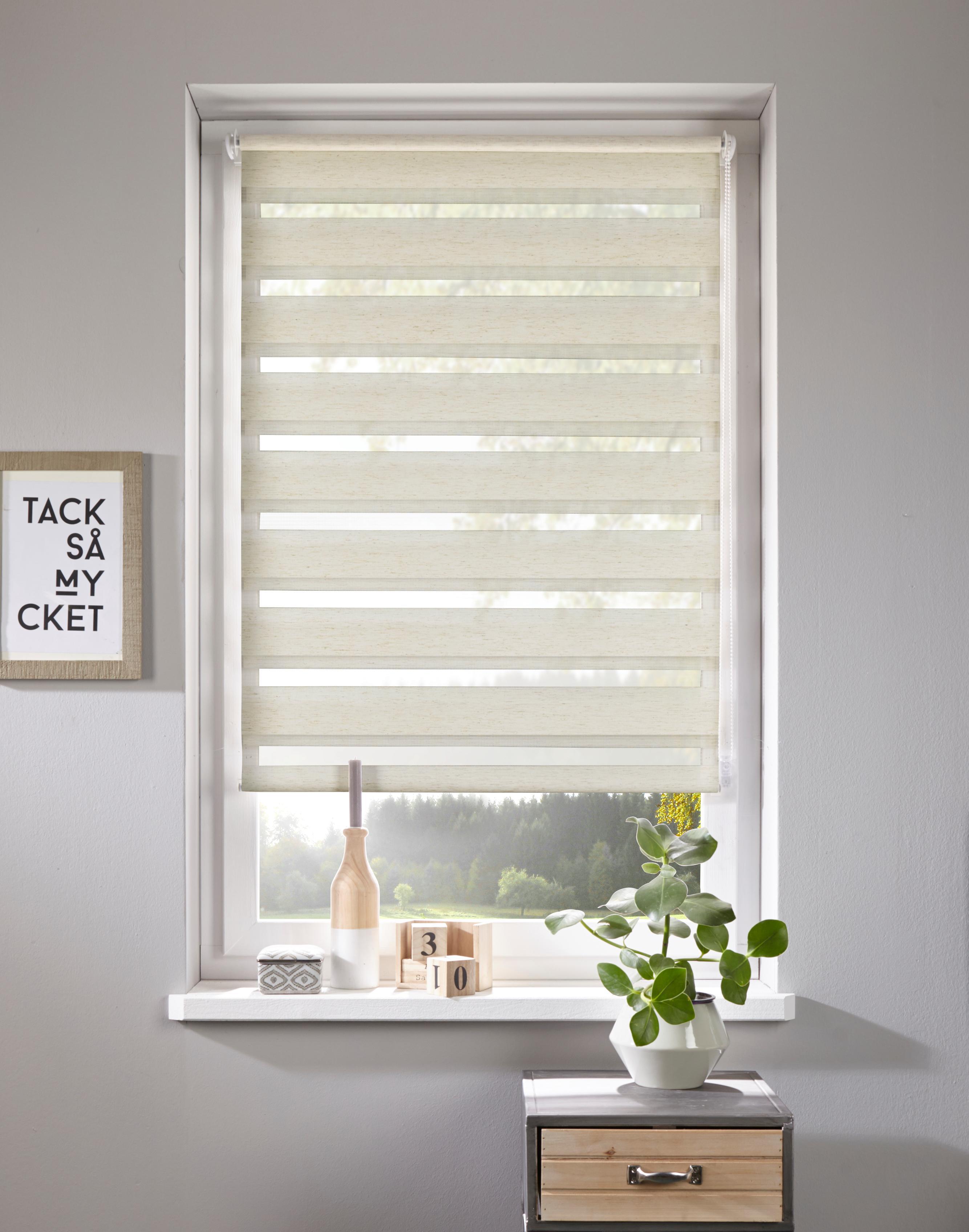 doppelrollo linen home affaire lichtschutz ohne. Black Bedroom Furniture Sets. Home Design Ideas