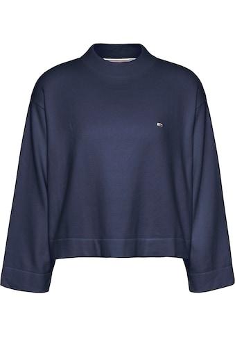 Tommy Jeans Rundhalspullover »TJW ESSENTIAL SWEATER«, mit Tommy Jeans Logo-Flag auf... kaufen