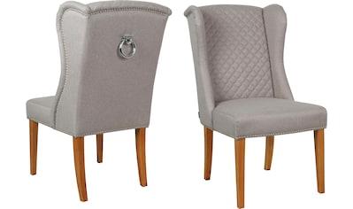 Home affaire Esszimmerstuhl »Erno«, mit gepolsteter Sitzfläche, Steppung in der... kaufen