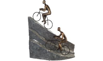 Casablanca by Gilde Dekofigur »Skulptur Racing, bronzefarben/grau«, Dekoobjekt, Höhe... kaufen