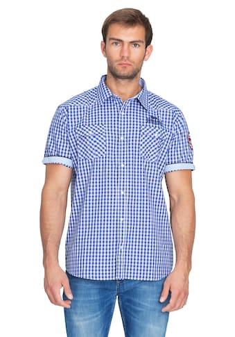 Lonsdale Kurzarmhemd »SHORTSLEEVE BERNY«, mit Karo-Muster kaufen