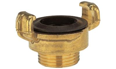GARDENA Schnellkupplung »7115-20«, Messing mit Außengewinde 33,3 mm (G-1) kaufen