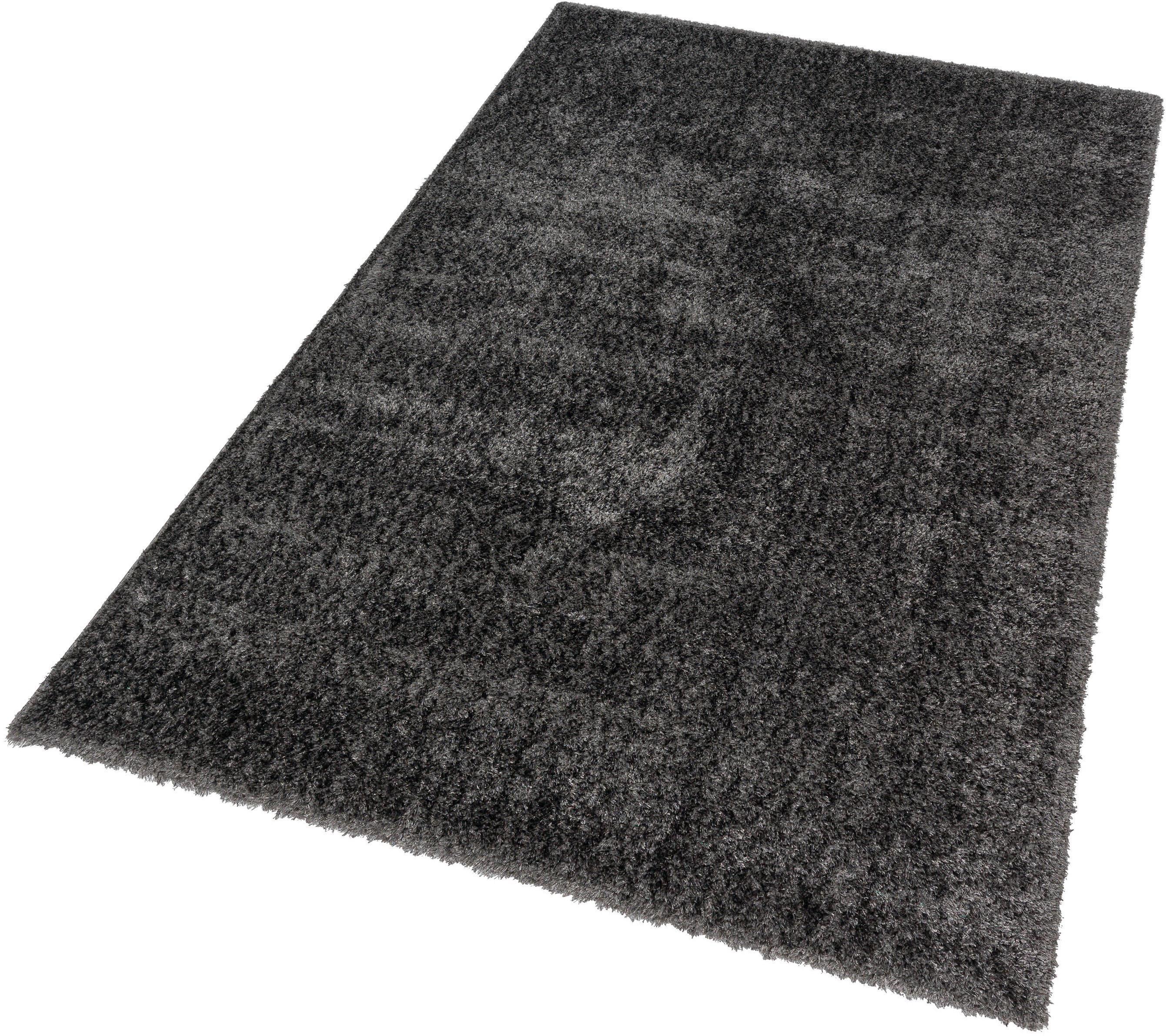 Hochflor-Teppich Matera 180 ASTRA rechteckig Höhe 42 mm maschinell gewebt