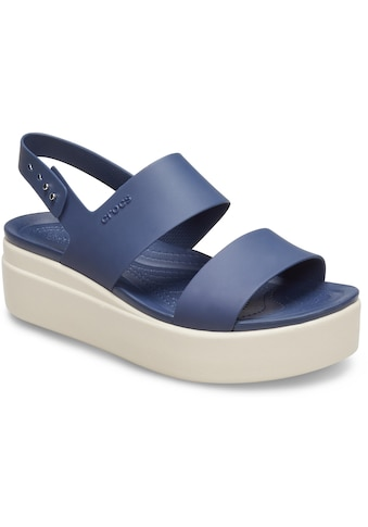 Crocs Badesandale »Brooklyn Low Wedge« kaufen