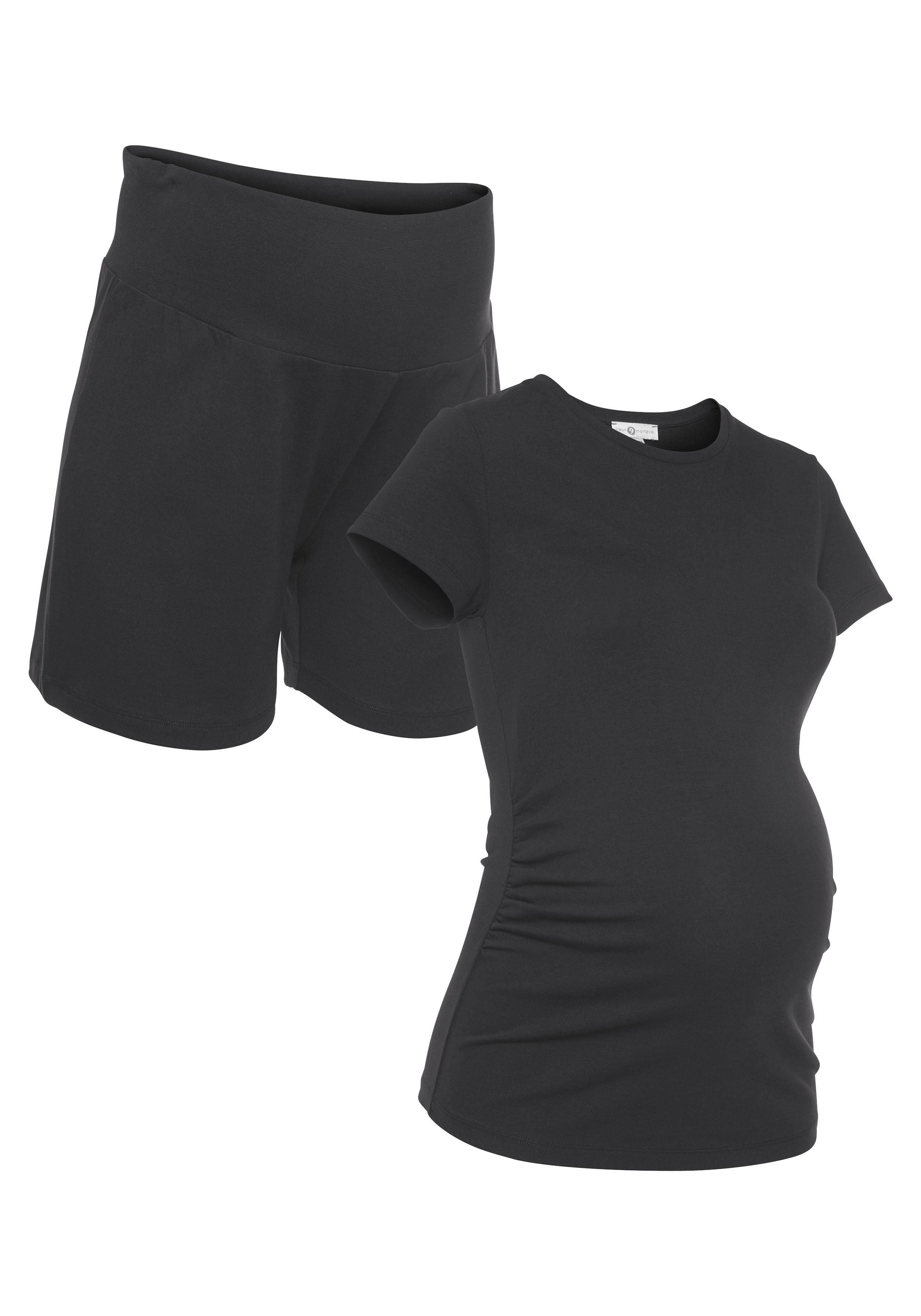 Neun Monate Umstands-Set Damenmode/Bekleidung/Umstandsmode/Umstandsshirts/T-Shirts