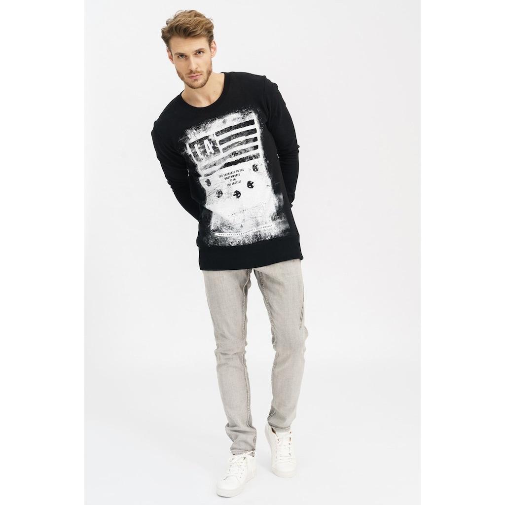trueprodigy Sweatshirt »Khal«, mit großem Frontprint