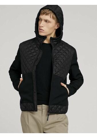 TOM TAILOR Denim Steppjacke »Hybrid Jacke mit Steppung« kaufen