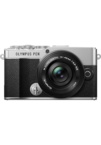 Olympus Systemkamera »E-P7 Pancake Zoom Kit«, M. Zuiko Digital ED 14-42mm F3.5-5.6 EZ... kaufen