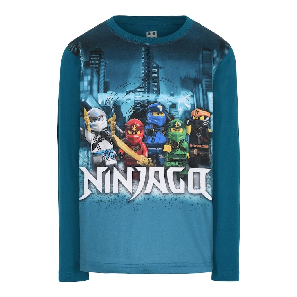 "LEGO® Wear Langarmshirt »M-22651«, ""Druck mit den 5 Ninjas"""