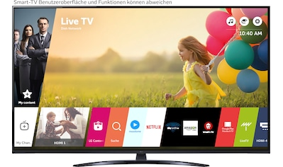 "LG LCD-LED Fernseher »55UP81009LA«, 139 cm/55 "", 4K Ultra HD, Smart-TV, LG Local... kaufen"