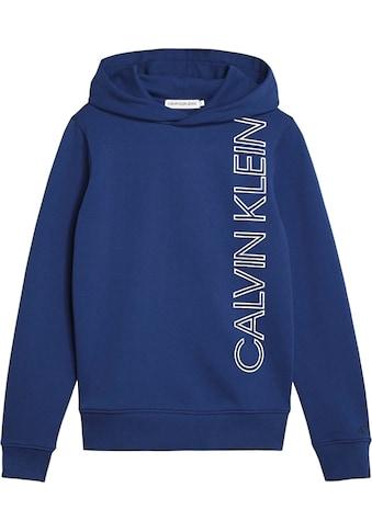 Calvin Klein Jeans Kapuzensweatshirt »REFLECTIVE LINES LOGO HO« kaufen