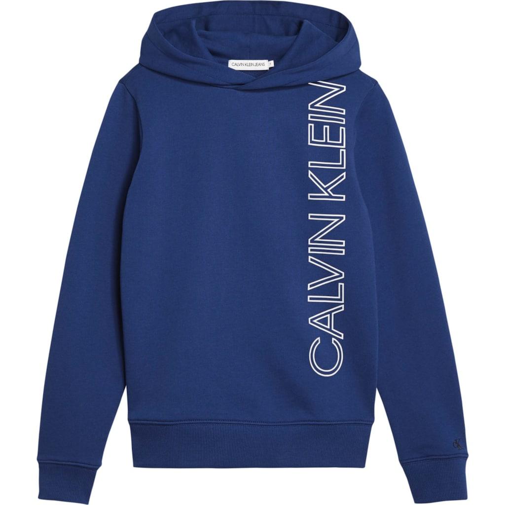 Calvin Klein Jeans Kapuzensweatshirt »REFLECTIVE LINES LOGO HO«