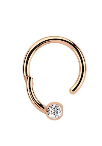 Adelia´s Nasenpiercing »Piercing Ring BCR, Clicker Stahl Rosegold, 3 mm Steinkugel«,... kaufen