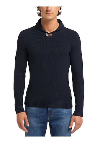 MUSTANG Strickpullover »Emil SC Structure«, Sweater kaufen