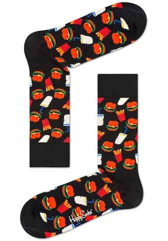 Happy Socks Socken »Burger«, mit Hamburger-Muster kaufen