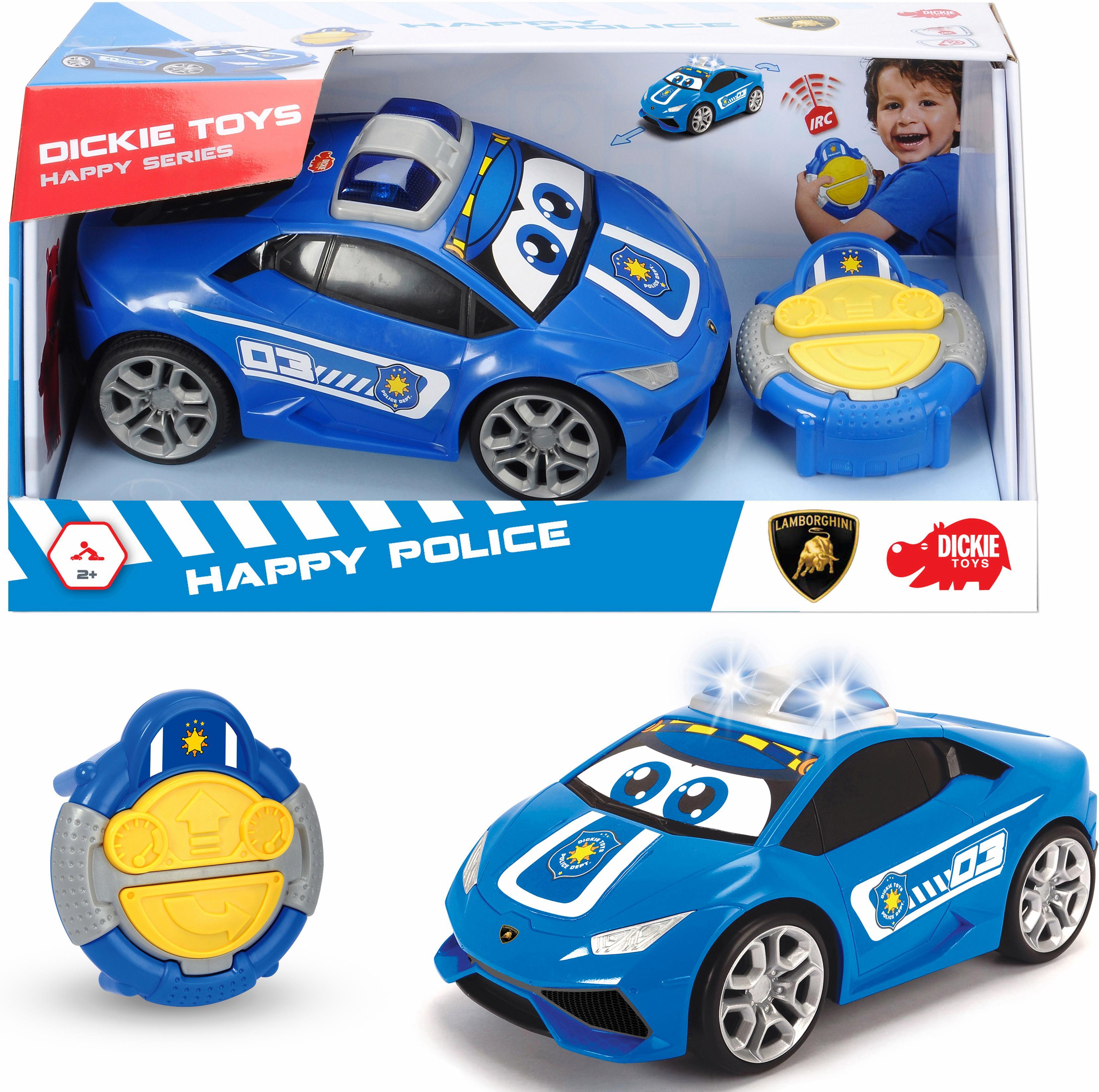 Dickie Toys RC-Auto IRC Happy Lamborghini Huracan Police