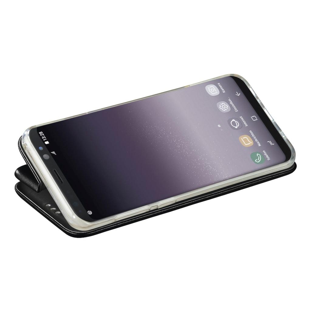 Hama Booklet Curve für Samsung Galaxy S9, Schwarz