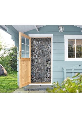 EXPLORER Insektenschutz-Vorhang, grau/weiß/schwarz kaufen