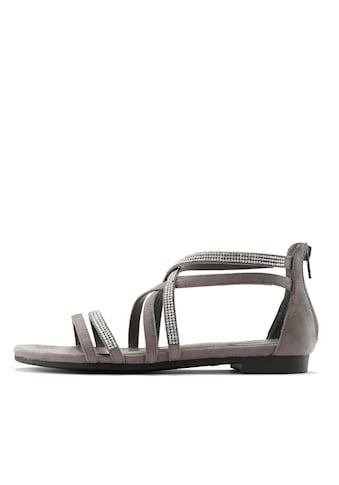 LASCANA Sandale, mit Glitterriemen kaufen